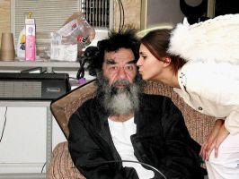 این سالمترین عکسش در کنار یکی از بزرگان !!!